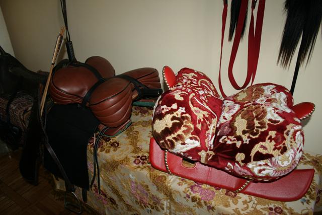Сідло для трюків і гетьманське сідло