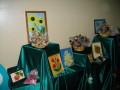 На виставці було представлено не тільки  живі квіти, але й іншу творчість на природничий манер