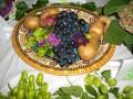 Фруктова та овочева композиція