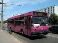 МАЗ-104 на 33-м маршруте работали только один день — в день 300-летия Полтавской битвы. Основными маршрутами работы этих автобусов были №5 и №8