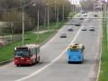 УМАКовская и частная гармошки на дамбе между микрорайонами Сады-1 и Половки