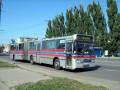 Первый автобус в Полтаве с настроенным электронным маршрутоуказателем