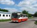Scania 33-го маршрута на ул. Яковчанской