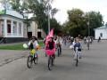 Велопарад девушек в Полтаве