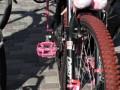 Розовые педали - то, что нужно :)
