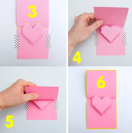 Как сделать красивую открытку поэтапно 46