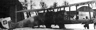средний бомбардировщик Gotha GL