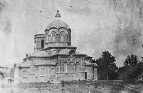 Храм Преображення Господнього у Глинську