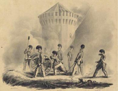 Смоленск, 18 августа 1812 года, 6 часов утра. Христиан Вильгельм Фабер дю Фор