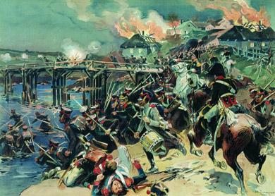 Н. Самокиш Штурм Полоцка 6 октября 1812 года