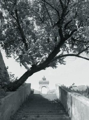 Лестница на Жевахову гору в Одессе