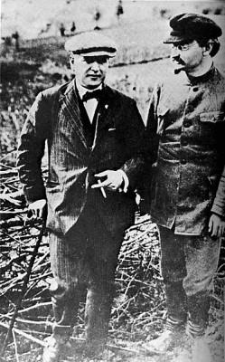 Раковський і Троцький, 1924 р.