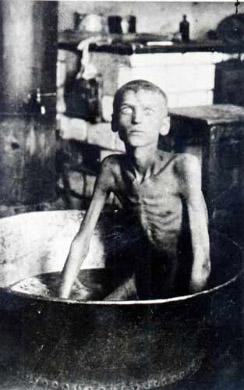 Хлопець с. Благовіщенка Іларіон Нищенко, через голод він убив і з'їв свого 3-літнього брата