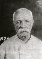 Євген Тимченко. Фото зроблене 9 вересня 1938 р. у день арешту вченого органами НКВС