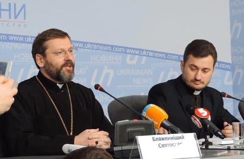 Прес-конференція Блаженнішого Святослава (Шевчука)