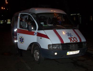 По вулиці Жовтневій чергують ще три карети швидкої