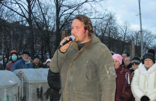 Олександр Коба повідомляє, що міліція перейшла на бік народу