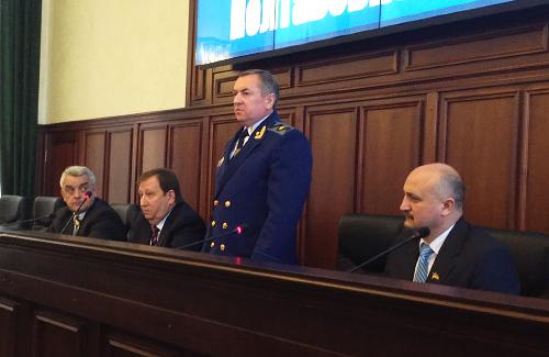 Віктор Бугайчук, Михайло Гаврилюк, Олександр Закорецький та Петро Ворона