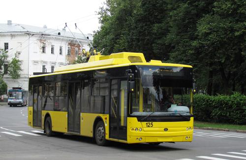 Тролейбус у Полтаві