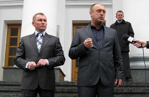 Вячеслав Стеценко и Александр Мамай