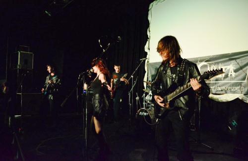 Рок-гурт «Дух свободи» у Кременчуці (2013 рік)
