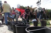 Полтава прийняла виклик від Львова «Ice Bucket Challenge»