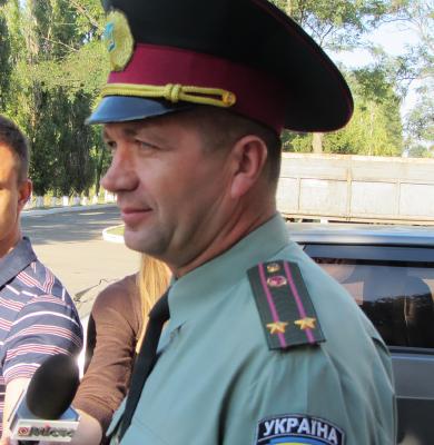 Начальник колонії Віктор Пивоваренко