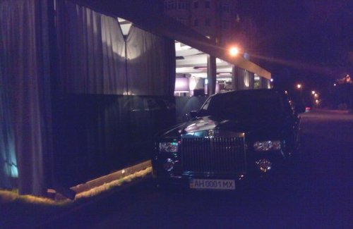Rolls-Royce Phantom в Полтаве