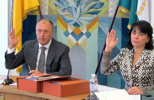 Олександр Мамай та Оксана Деркач