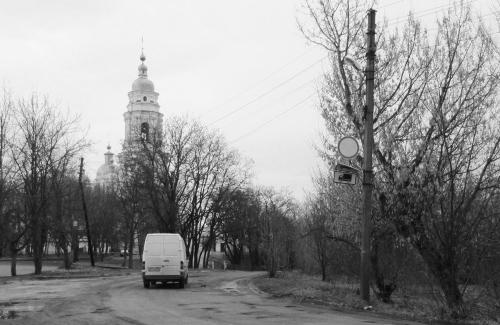 Улица Свердлова в Полтаве