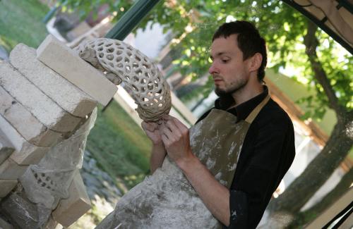 Перший КЕРАМОрезидент в Опішному — художник-кераміст із Сумщини Юрій Мусатов