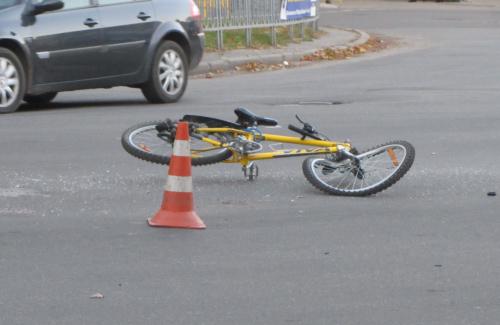 Велосипед, що постраждав в дтп