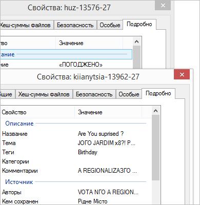 Свойства документа формата Microsoft Word