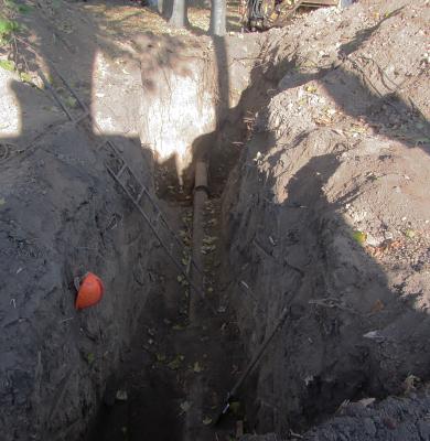 У Петровському парку Полтави мінятимуть 80-річний водопровід
