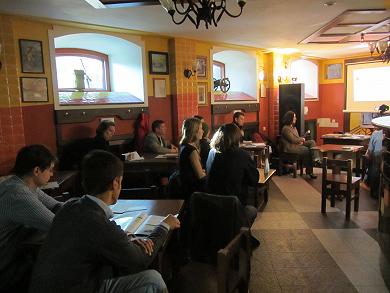 Лекція на тему «зеленої» енергетики в арт-пивниці «Сто доріг»