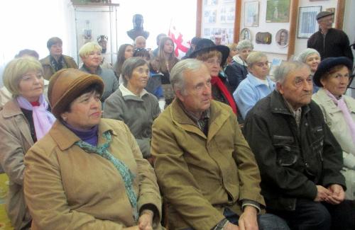 Учасники телемосту в Миргороді