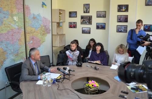 Юрій Бублик на прес-конференції