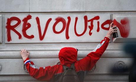 Політизація НУО (фото – theguardian.com)