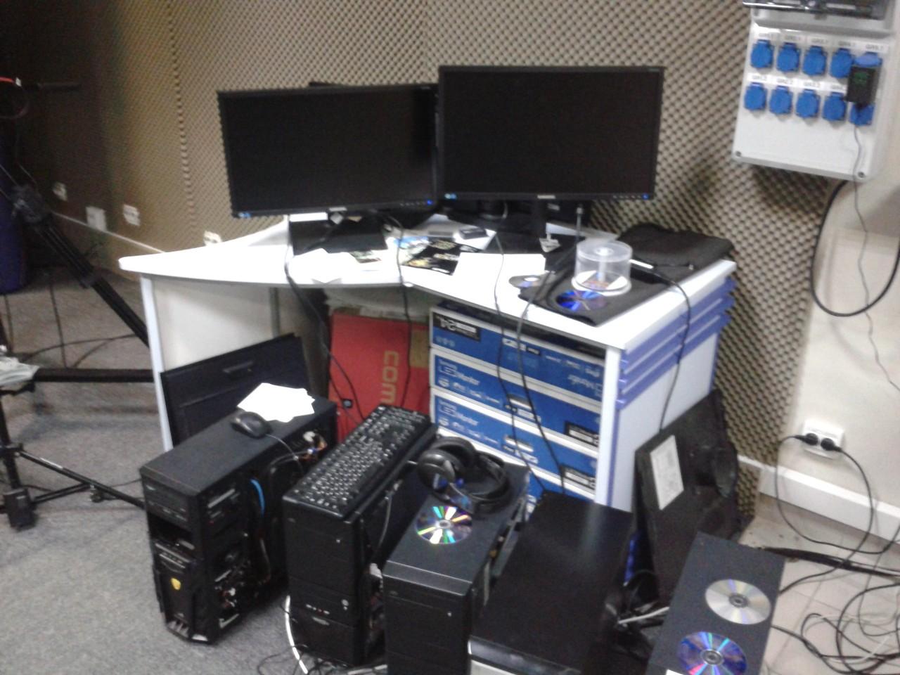 Технічне обладнання студії