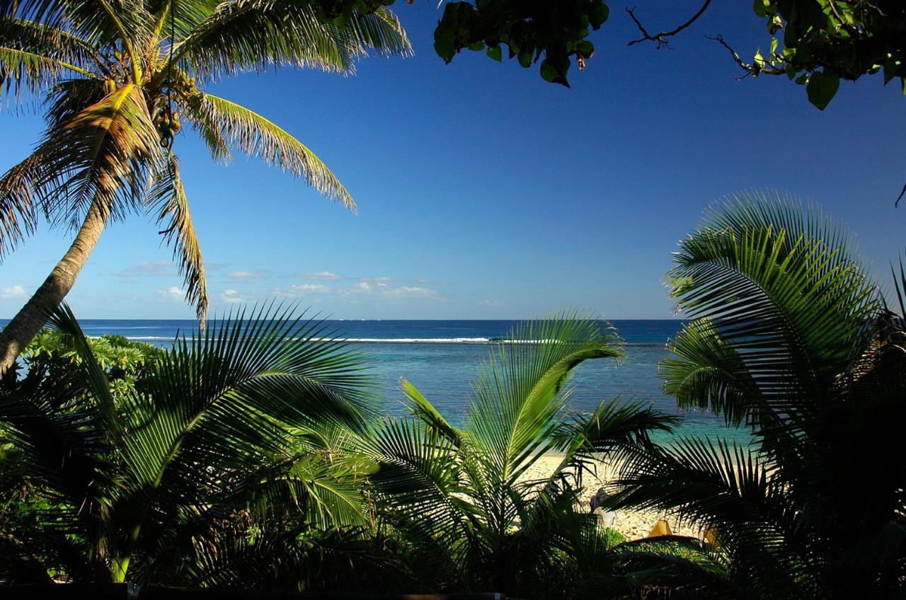 Вид на Тихий океан с северо-западного берега острова Тонгатапу
