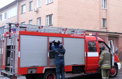 На полтавщині під час пожежі у школі