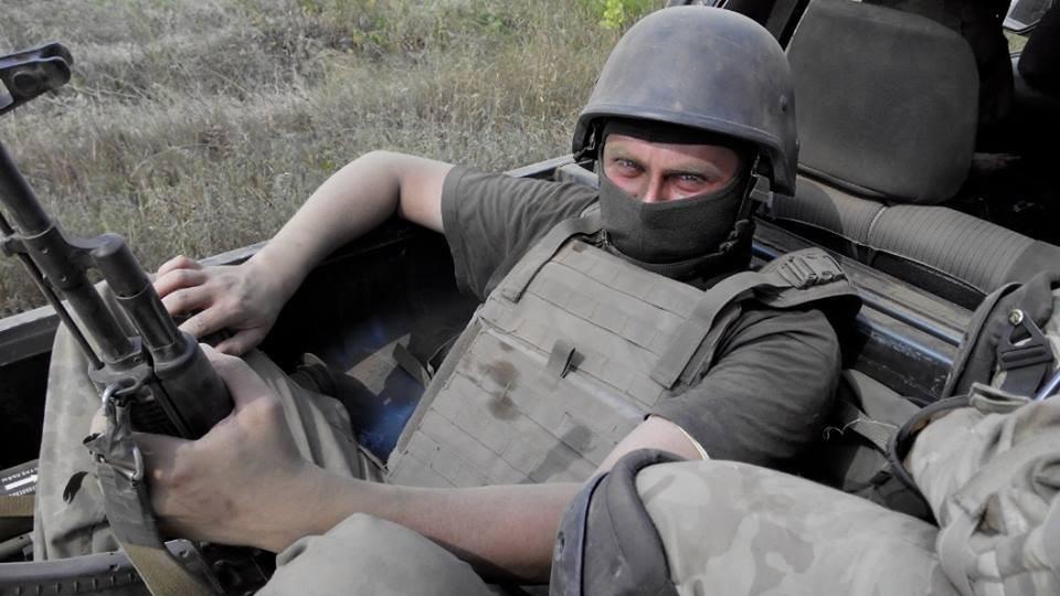 Автор під час рейду на Степанівку. Середина серпня.Фото з особистої сторінки Facebook.