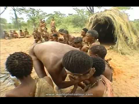 Ритуал племени Бушменов. Часть 2
