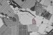 Земельна ділянка на Івонченцях (виділена червоним) де роздають землю