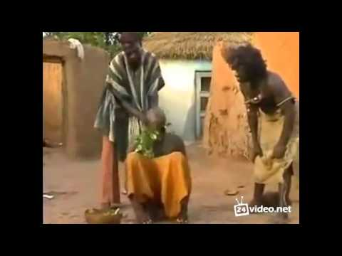 Как в Африке головную боль лечат