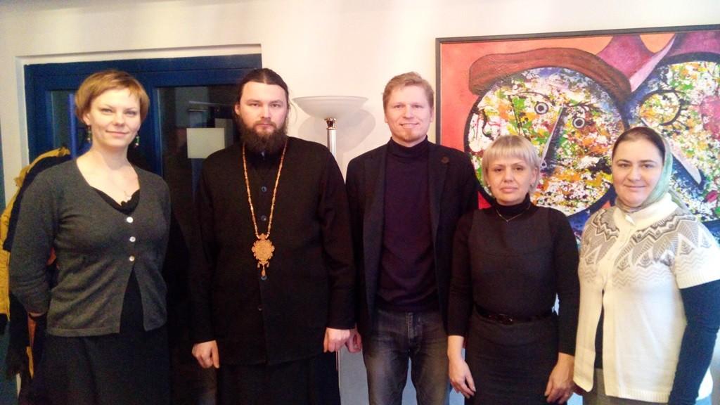 Дануте, Томас Барановас та полтавська делегація