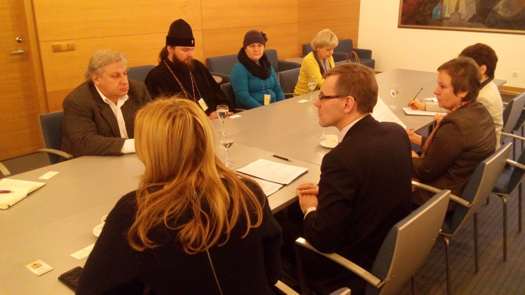 Полтавська делегація і литовські дипломати