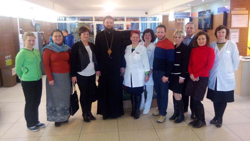 Полтавська делегація і медики санаторію