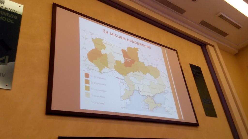 Розподіл учасників програми по регіонам