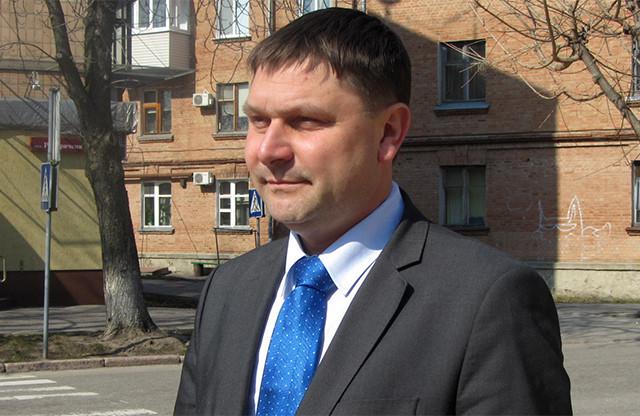 Керівник прес-групи УСБУ в Полтавській області Олексій Скрильник
